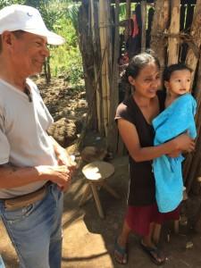 Alcides Flores bei Familie Ometepe 2015