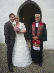 Jenny und Sebastian Latz mit Michael Höhn
