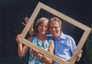 Silberhochzeitsfoto Ilona & Werner Arnold