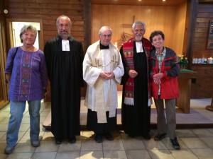 Foto nach dem Gottesdienst