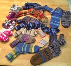 Socken von Elsa Berzbach