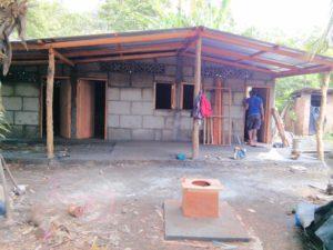 Bau des Projekthauses Nummer 193