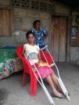 Esmeralda und ihre Mutter in der Nähe von San José del Norte