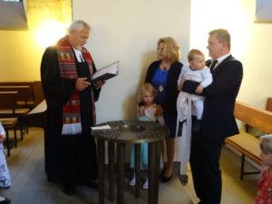 Taufe von Marie Josefin Kost