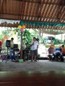 Feier für die Kinder mit Behinderungen