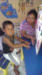 Kind aus dem Behindertenzentrum (CET) auf Ometepe.