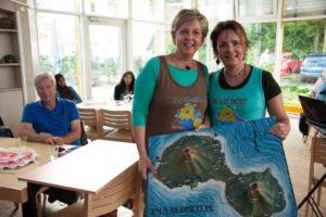 Ursula Blonigen und Dr. Susanne Lindner. (Photo: Vera Marzinski)