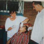 Dr. Elke Alberts 1997 auf Ometepe