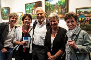 Ursula Blonigen, Dr. Susanne Lindner, Monika und Michael Höhn, Karla Gaisbauer (von links)